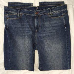 J. Jill Jeans Straight Fit Slim Boyfriend Stretch